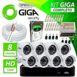câmera de segurança Kit Completo