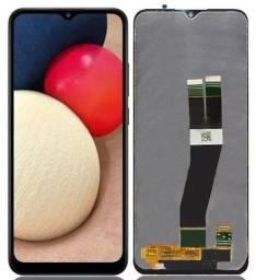 Tela / Display Original para Samsung A02s  - Instalação em 30 Minutos!