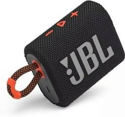 Caixa De Som Jbl Go3 Black Nova Lacrada