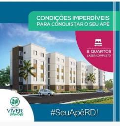 Título do anúncio: Ato de 150 reais ou fgts  adquira seu apartamento financiado pela caixa
