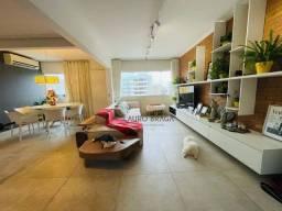 Apartamento com 1 dormitório à venda, 79 m² por R$ 320.000,00 - Jatiúca - Maceió/AL