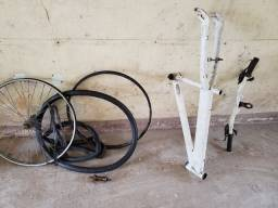 Título do anúncio: Quadro e pecas bike