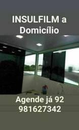 INSULFILM COM PREÇO BOM + serviço a Domicílio