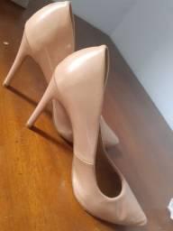 OPORTUNIDADE!!!  Sapato feminino de festa cor Mude Tam 35