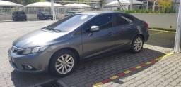 Honda Civic LXR 2013/2014 CINZA