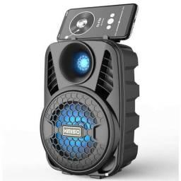 Caixa De Som Potente Bluetooth, Nova