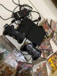 PlayStation  2 completo leia a descrição