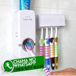 Título do anúncio: Dispenser Colgate Automático + Suporte Escova de Dente * Fazemos Entregas