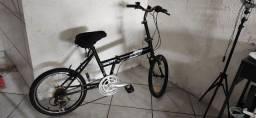 Título do anúncio: Bicicleta dobrável 06 marchas