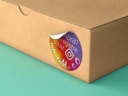 Adesivo etiqueta para embalagens