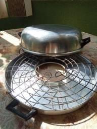 Churrasqueira de fogão casa cozinha