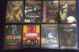Lote DVD s Rock (8 DVDs)