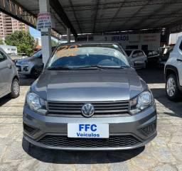 VW - Volkswagen Gol G7 1.0 Completo 2020 Cinza