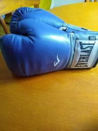Luva de box e saco de pancadas profissional