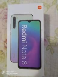 Xiaomi Redmi Note 8 semi novo perfeito 12xsem juros