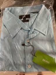 Camisa masculina social da HUGO BOSS ORIGINAL