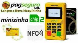 Máquina de cartão Minizinha Chip 2