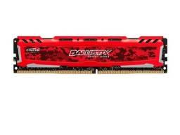 Memória Ram Crucial Ballistix Sport Lt 4Gb (1X4) DDR4 2666Mhz