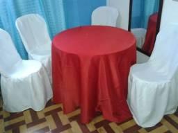Toalhas para mesa redonda