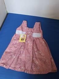 Vestido para bebê NOVO