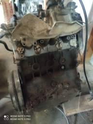 Motor Golf 1.8 gasolina fluxo cruzado.