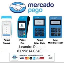 Maquineta de cartão Mercado Pago a partir de 10 Reais