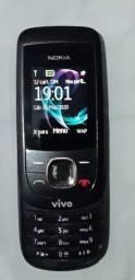 Celular Funcionando,,Raridade Nokia, modelo 2220 Slide antigo,Funcionando!