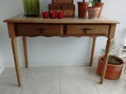 Escrivaninha/aparador em madeira maciça