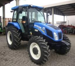 Trator New Holland Parcelado Tl 75 Cabinado