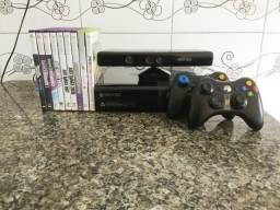 Xbox 360 + Controles + Kinect + 10 Jogos Originais