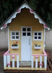 Casinhas de madeira para crianças comprar usado  Capão do Leão