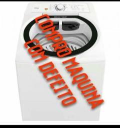 Maquina de lavar com defeito