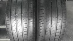 2 pneus Pirelli Scorpion Verde, 235/55/17. SEMINOVOS.