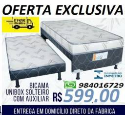 Peça Agora e Receba No Mesmo Dia Cama Box Com Auxiliar Eurosono Nova 599,00