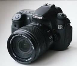 Canon 60D + Lente 18-55