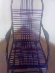 Cadeira balanço nova é rede nilon nova
