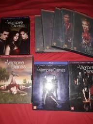 Vendo diário de vampiro 1° a 5° temporada
