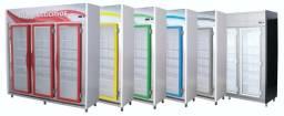 Balcão Auto Serviço 3 Portas 2 metros Expositor Refrigerado Frios e Laticínios