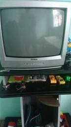 Tv cce tubo semi nova 14 polegadas