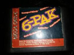 6-pack (cartucho Mega-Drive)