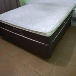 Cama box com colchão - poucos meses de uso - retirar em Sapucaia do Sul