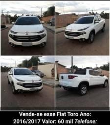 Fiat toro freedom 1.8 16v Flex automática - 2017
