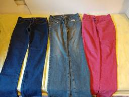 3 calças diversas