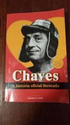Livro ilustrado Chaves a história oficial