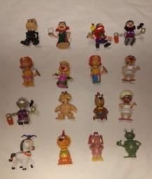 Lote 16 bonecos circo mix revista recreio