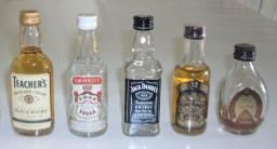 Mini Garrafas De Bebidas (valor do lote) - leia - Dia dos Pais