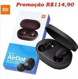 Xiaomi Aiordots Preto Bluetooth Fone De Ouvido Sem Fio Promoção!