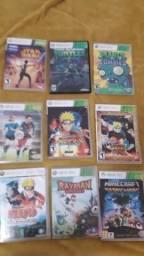 Kit com 18 jogos para Xbox 360
