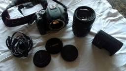 Camera Canon t3i + Lente Canon 18-135 excelente estado