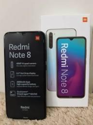 Celular Smartphone Redmi Note 8 Dual 64gb Global Preto Xiao